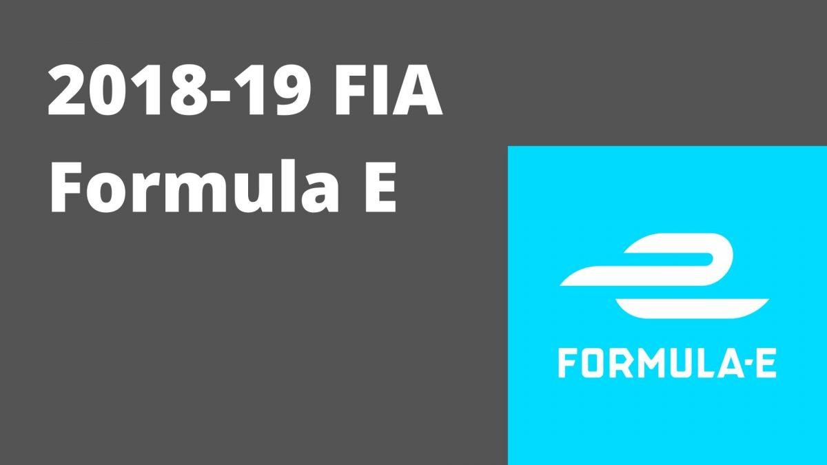 2018-19 FIA Formula E