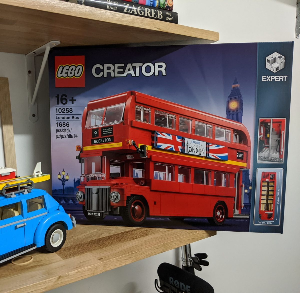New LEGO Set; London Bus