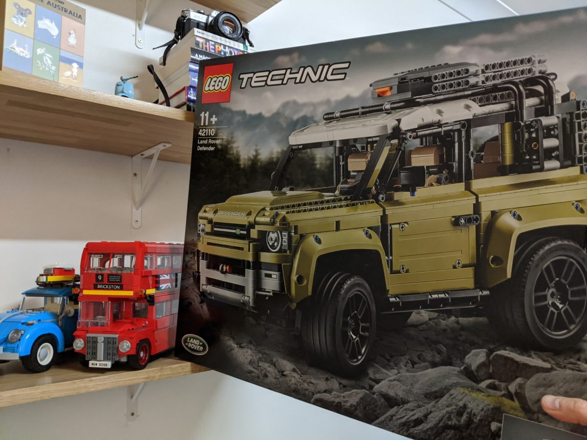 Got the Land Rover Defender Technic LEGO Set