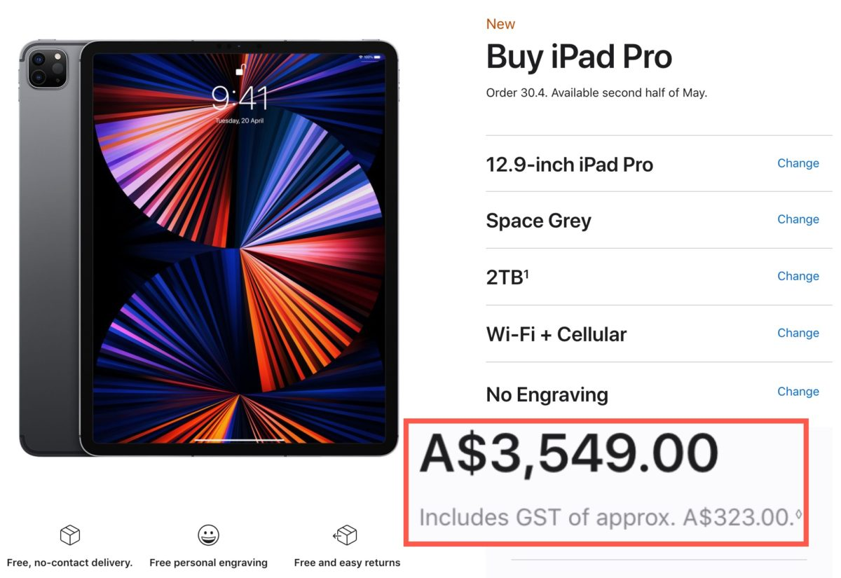 New M1 iPad Pro Released